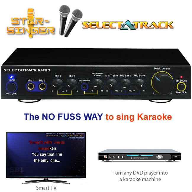 karaoke machine that connects to tv